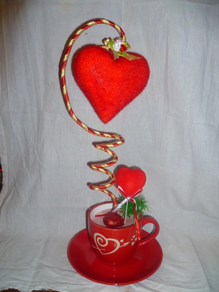 Топиарии-сердце своими руками