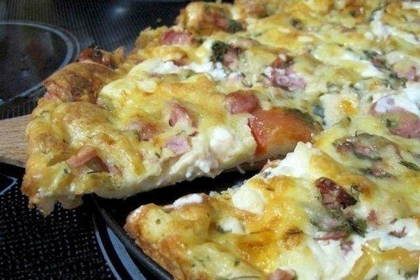 Рецепт пиццы минутка – отменный вкус без особых хлопот