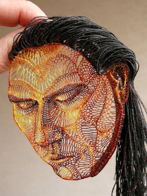 Необычные кружевные скульптуры художницы Агнес Херцег