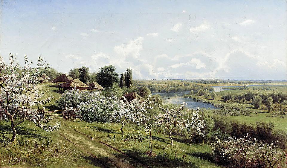 СЕРГЕЕВ НИКОЛАЙ АЛЕКСАНДРОВИЧ,1855-1919,ХУДОЖНИК-ПЕЙЗАЖИСТ.