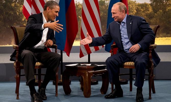 Американские СМИ: Путин приостановил дипотношения с Обамой
