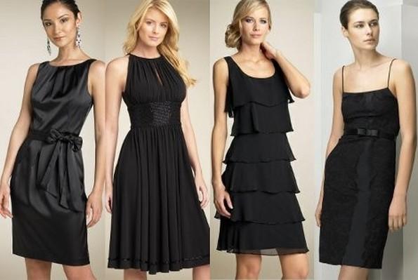 Черные платья своими руками