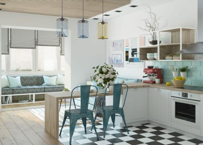 Дизайн 1 комнатной квартиры студии: лучшие идеи для вашей семьи