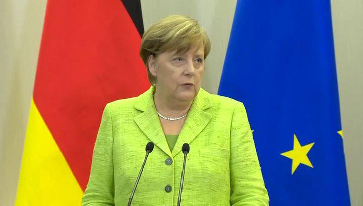 Меркель озвучила жесткие условия снятия санкций