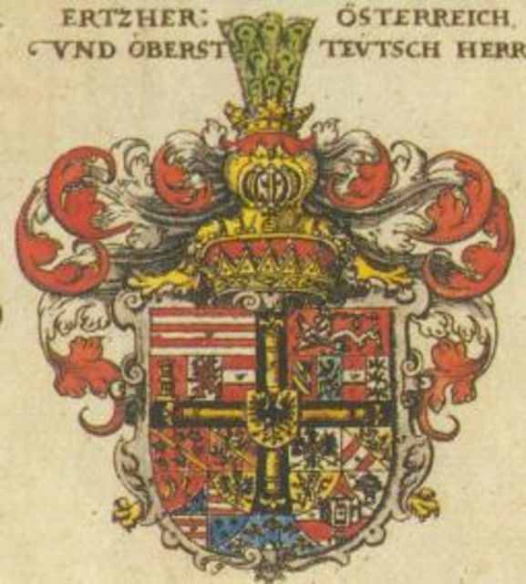 Герб 12 века тевтонского ордена