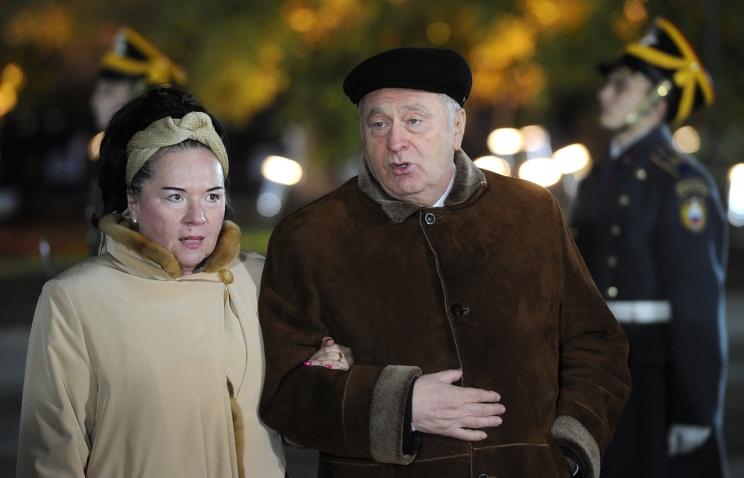 Жириновский в 2013 году зара…