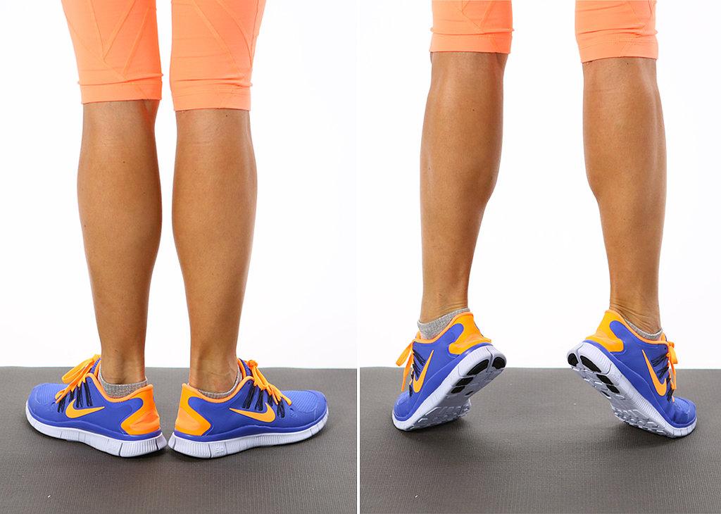 накачать икры ног в домашних условиях