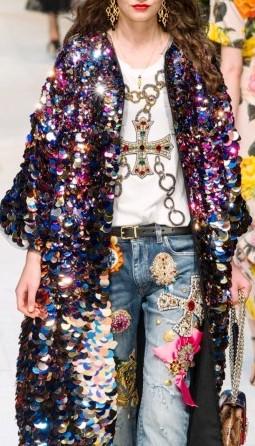 Dolce & Gabbana весна-лето 2017 — традиционно ярко, блестяще и шикарно!