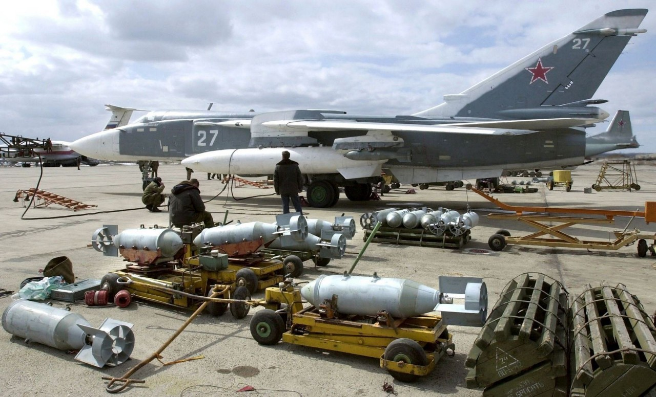 Россия испытала в Сирии 162 образца вооружения