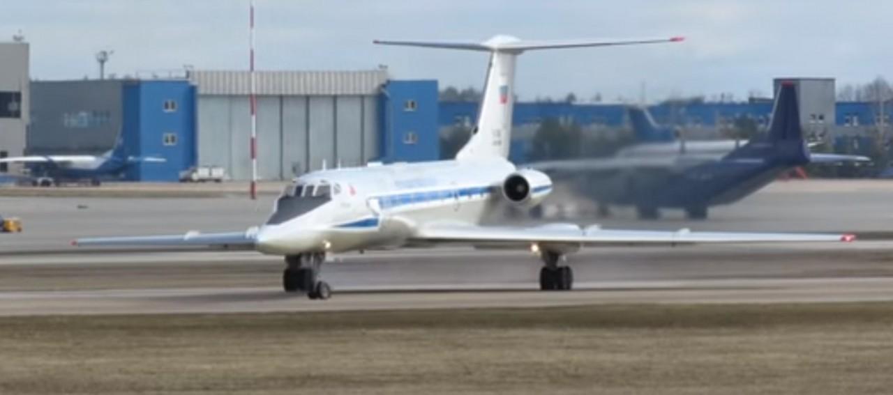 Журналисты запечатлели редкий военный самолет РФ