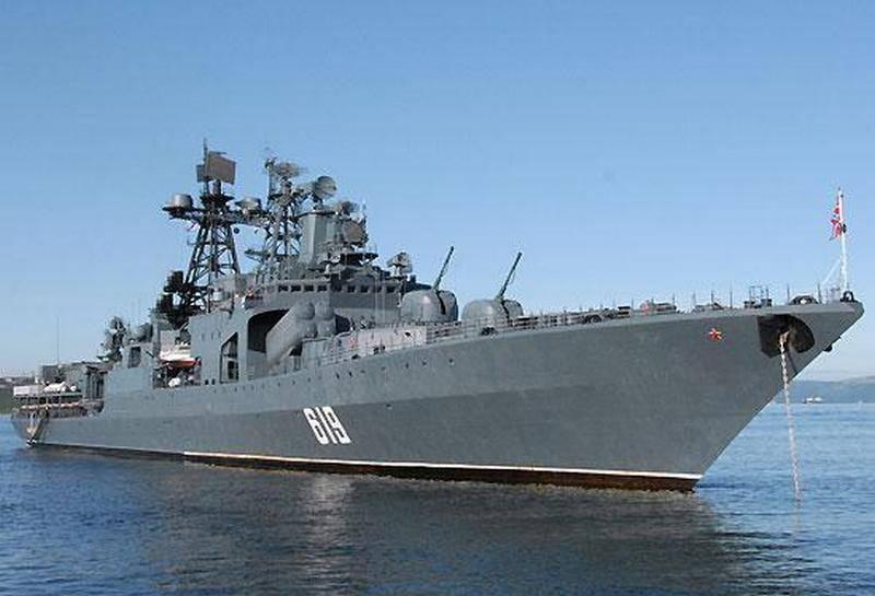 """БПК """"Североморск"""" закончил технический ремонт в Севастополе"""