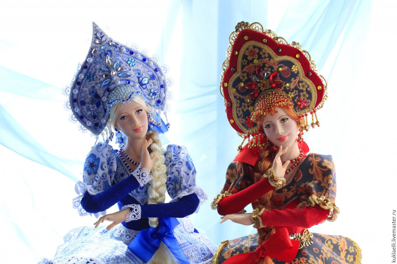 Наш ответ Барби и Кену - шикарные русские куклы! Женская месть страшна! )))