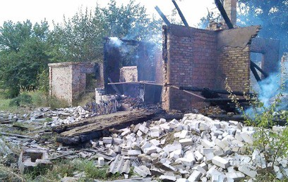 Украинские силовики обстреляли окрестности Ясиноватой