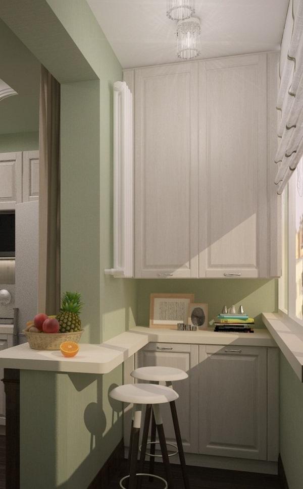 кухня на балконе в квартире студии малогабаритная квартира