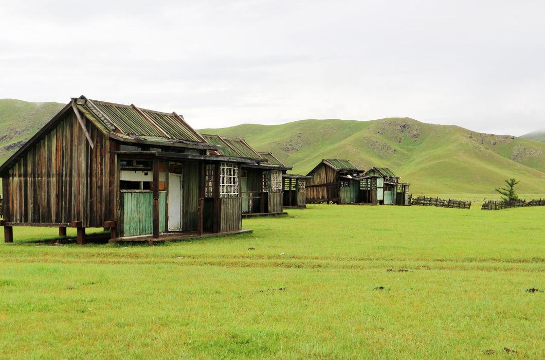 Особенная красота заброшенных деревень