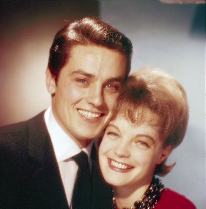 Ален Делон (Alain Delon) и Роми Шнайдер (Romy Schneider) в фотосессии Уолтера Карона (Walter Carone) (1961), фото 8