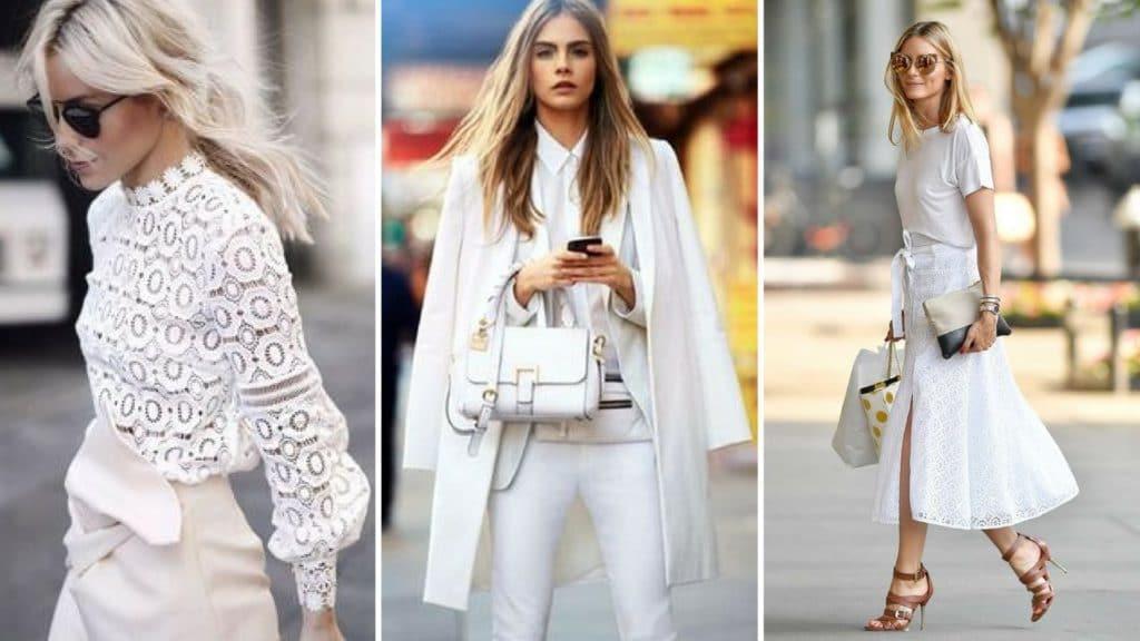 Шикарный стиль total white – модные идеи и образы лета 2019