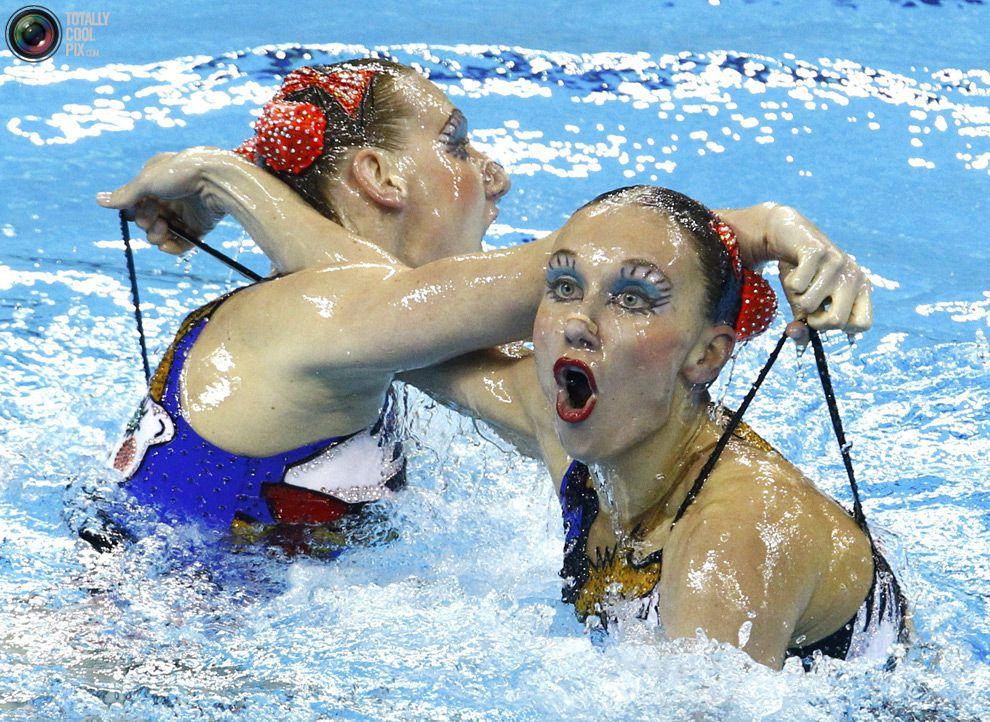 Нюансы синхронного плавания