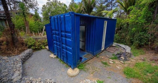 Дом своими руками контейнер.