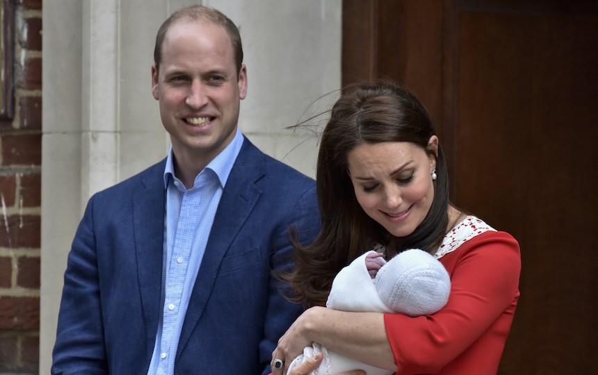 Сильное имя и хороший аппетит: принц Уильям рассказал о новорожденном сыне