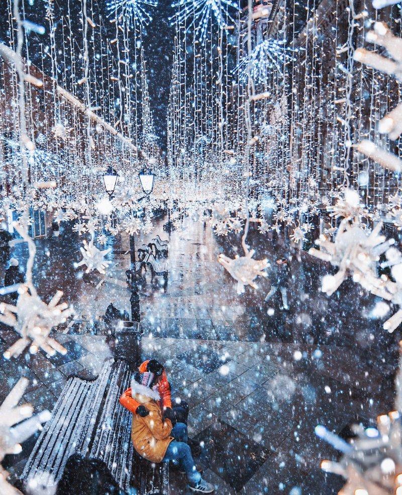 11. достопримечательность, зима, кристина макеева, москва, сказка, снег, фотография, фотомир