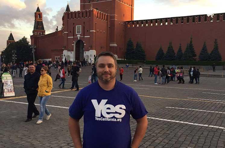 «Я нашел в России новое счастье», — лидер движения за отделение Калифорнии решил переехать в Екатеринбург