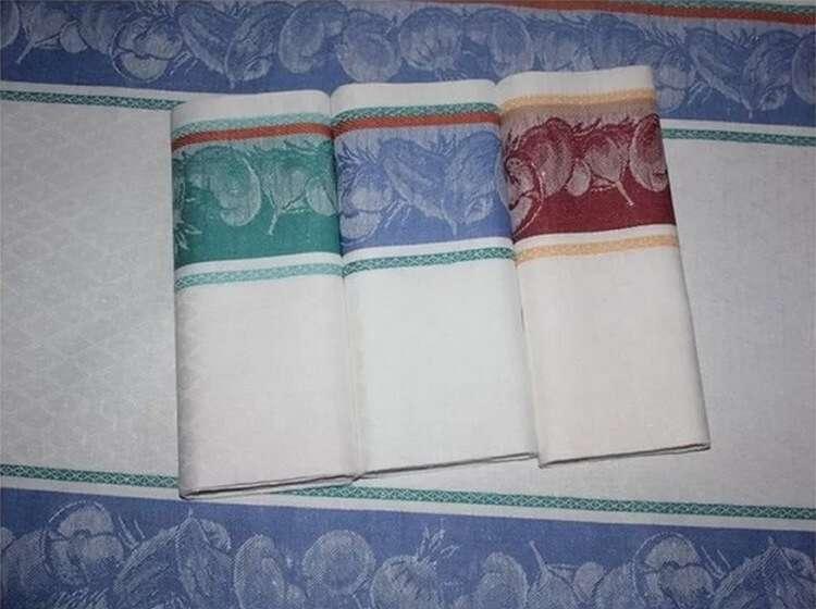Как отстирать кухонные полотенца с помощью микроволновки. Стали словно вчера купленные