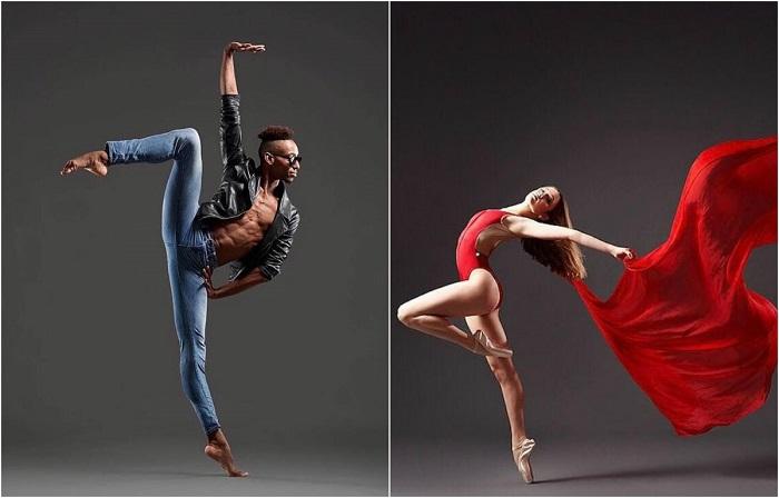 Жизнь в танце: концептуальные фотографии балетных танцоров