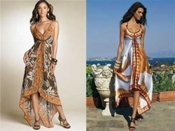 Простые идеи летней одежды — это не только легко сшить, но и легко носить!