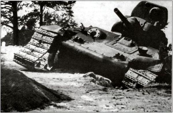 Основные причины неудачного танкового контрудара Юго-Западного фронта летом 1941 года.