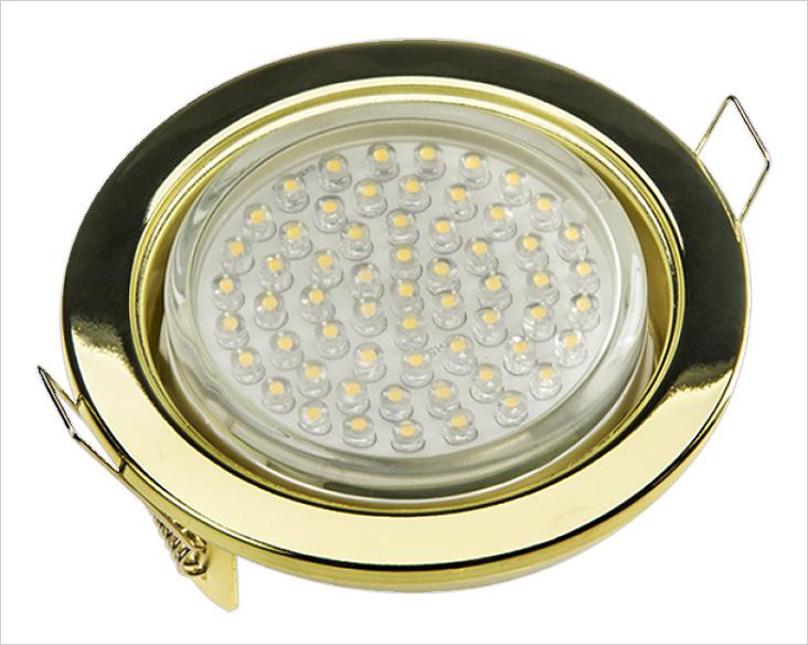В таком светильнике используется много светодиодов