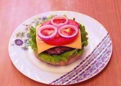 Гамбургер по рецепту Спанч Боба 18