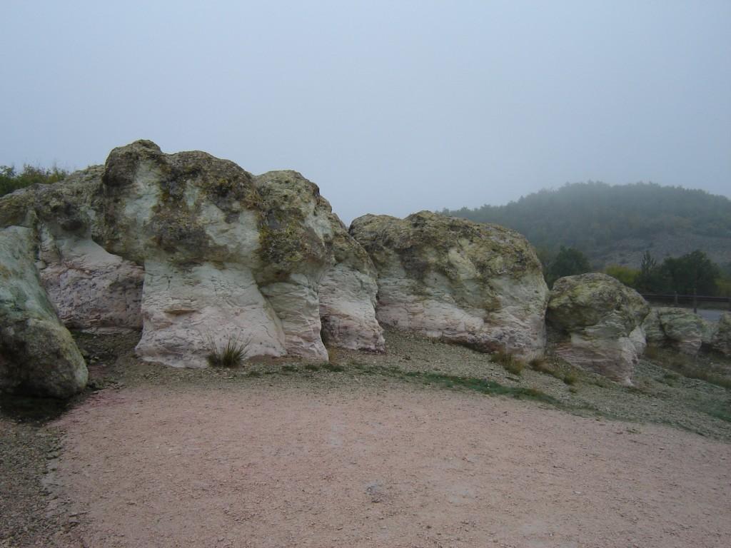 Каменные грибы в Болгарии