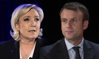 Итоги первого тура выборов президента Франции