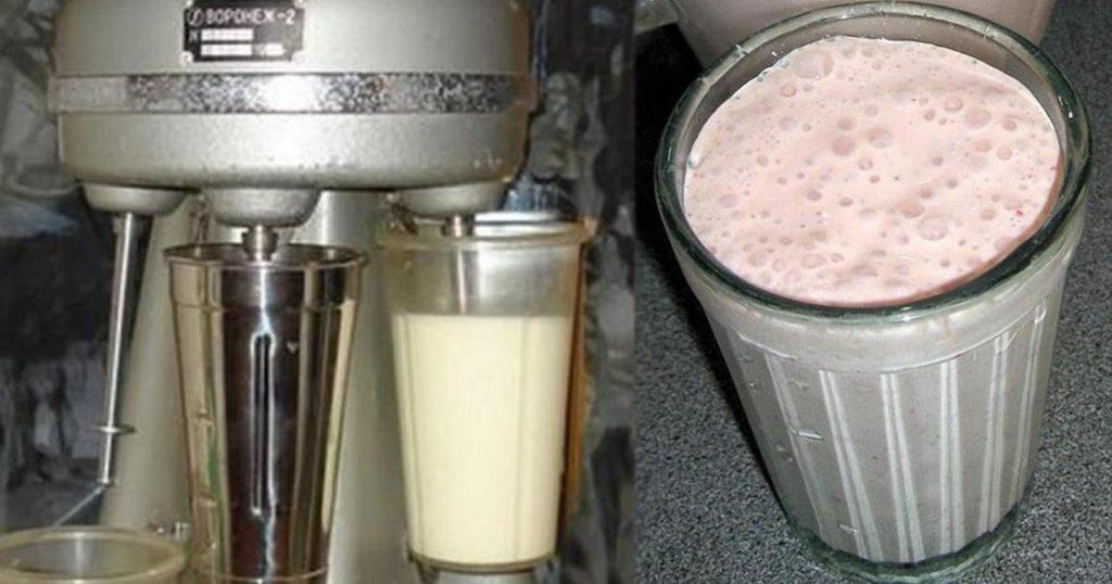 Молочный коктейль по ГОСТу — вкус детства