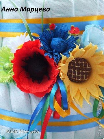 Мастер-класс Свит-дизайн Бумагопластика Мастер-класс по макам и василькам Бумага гофрированная фото 1