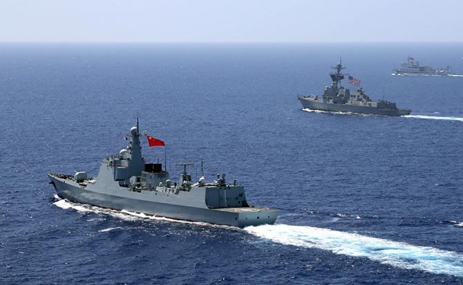 Китай будет бить Америку, если она вторгнется в воды КНР, как русский Гастелло
