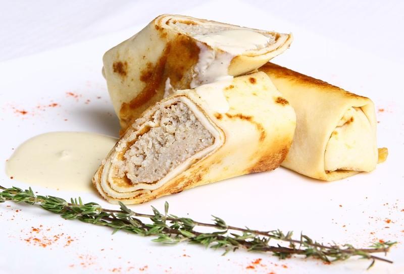 Блинчики с мясной начинкой блинчики, масленица, рецепты