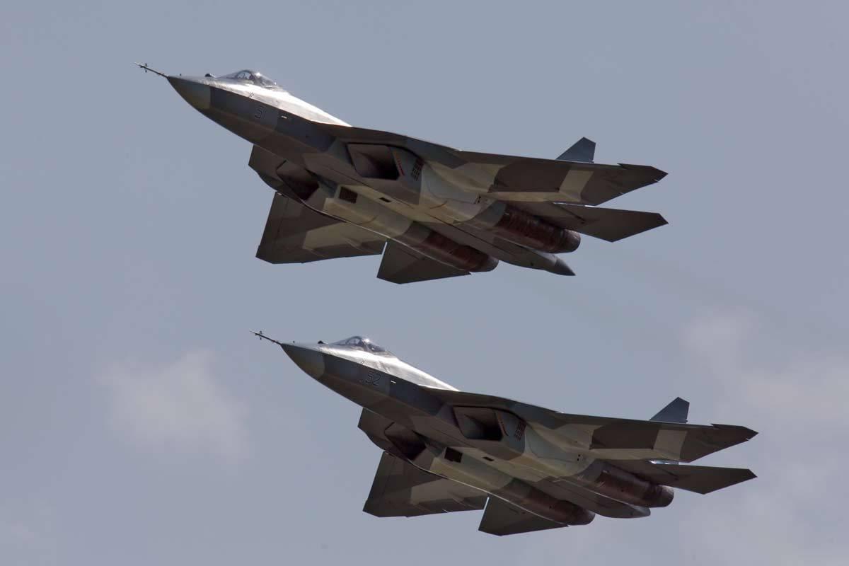 Су-57 за 90 секунд: интересные факты о новейшем истребителе России