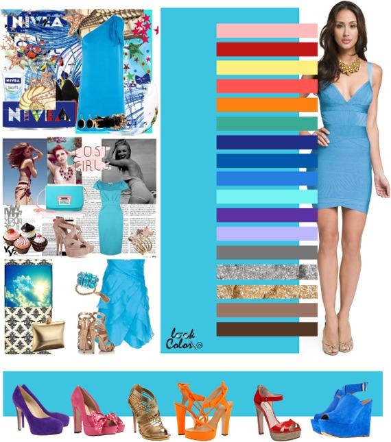 Правильные цветовые сочетания в одежде (21 фото)
