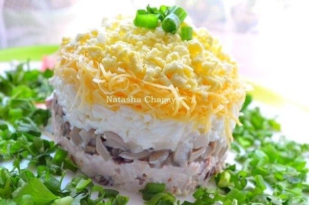 9 рецептов вкусных слоёных салатов!