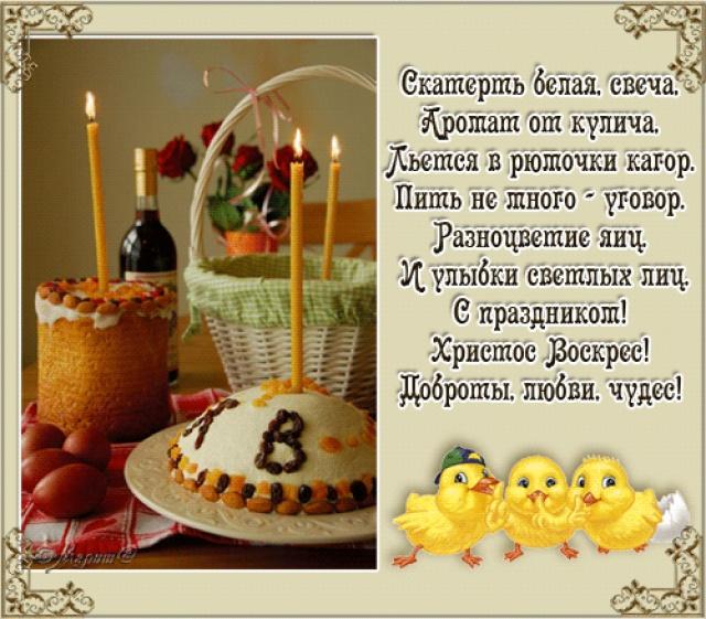 Когда и какую еду можно освящать на Пасху!
