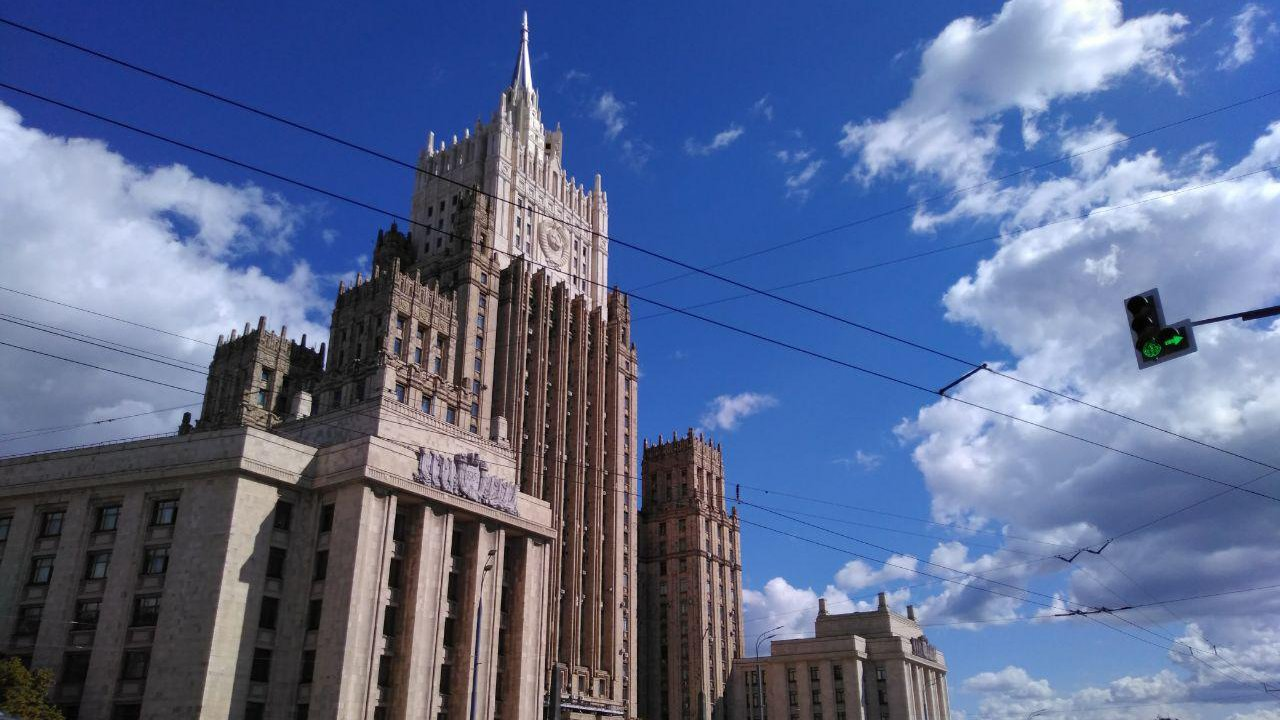 РФ направила Украине ноту из-за нарушения договора о дружбе