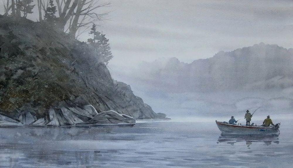 Акварельные пейзажи художника Ильи Горгоца, фото № 45