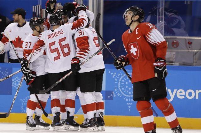 Сборная Канады обыграла Швейцарию на олимпийском турнире