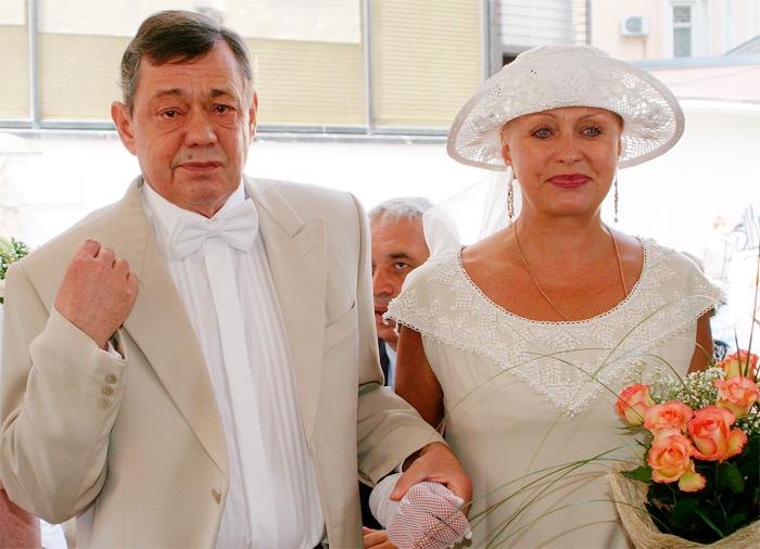 Людмила Поргина учится жить без мужа