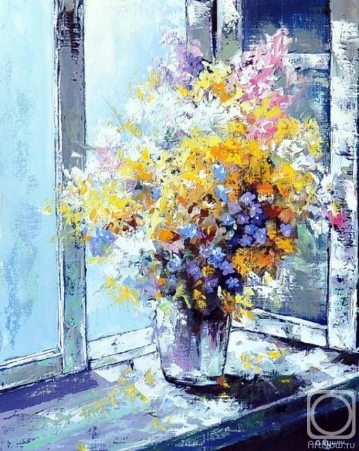 Яркая красота мира, расцветающая на картинах художника Александра Гунина