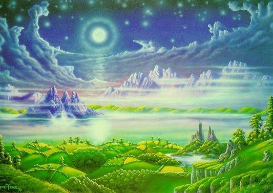 Идея для Райской Земли и Вознесения без эзотерики