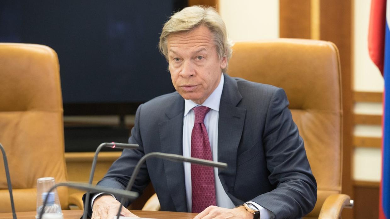 Пушков прокомментировал выступление Порошенко на Мюнхенской конференции