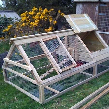 Как построить летний курятник на даче своими руками 619